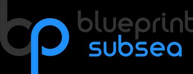Illustrasjon av Blueprint subsea - Sea Track logo