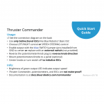 Thruster Commander